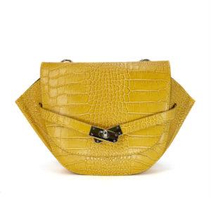 Naiste õlakott kollane